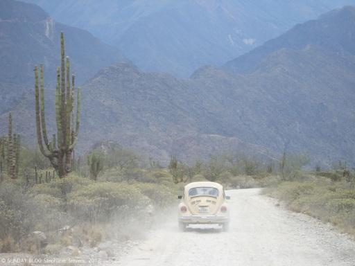 On the way to Rio Maranon, Peru