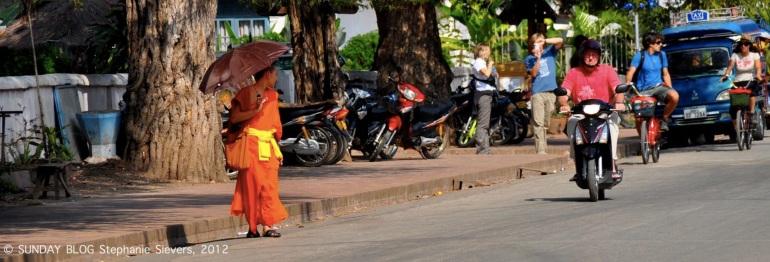 Monk Luang Prabang, Lao