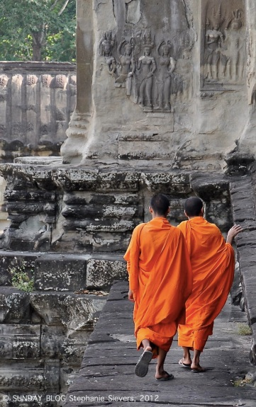 Monks, Cambodia