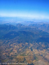 Above South Africa