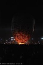 Balloon blowing up, Taunggyi