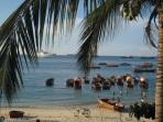 Local beach, Stone Town, Zanzibar