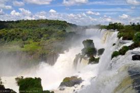 Iguazu Falls at Argentinian boarder