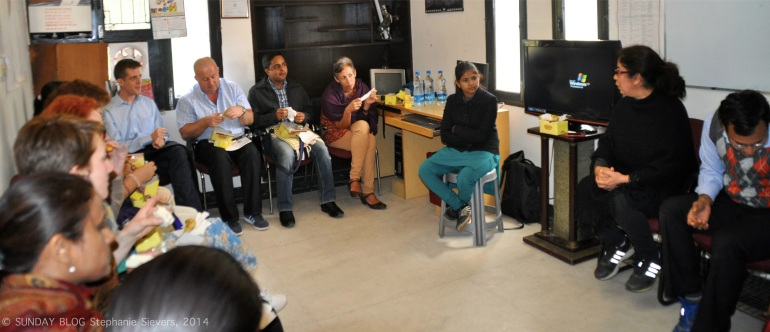Journeys for Change team at Sakha HQ in Delhi