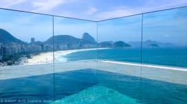 Rio - Hotel Miramar looking towards Sugarloaf Mountain